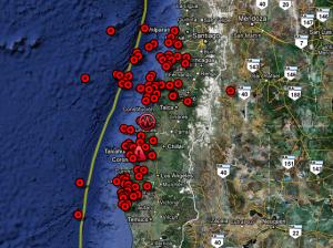 mappa-cile-terremoto
