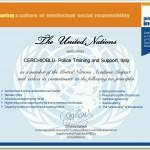 CERCHIOBLU membro in action di United Nation Academic Impact