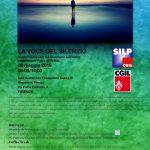 Firenze -Convegno La voce del silenzio