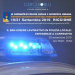 Convegno Nazionale Polizia Locale Riccione 2019